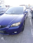 mazda 3 2006 blue sedan top of the line for sale