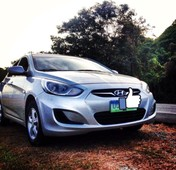 silver hyundai accent hyundai accent 1.4 gl a 2013 for sale in hermosa
