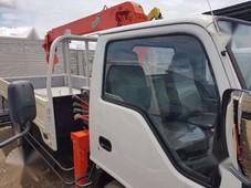 isuzu elf japan surplus truck mt white