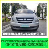 hyundai grand starex 2009 vgt gold