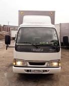 new arrival isuzu elf nkr 14ft 4hl1 closed van like fuso canter
