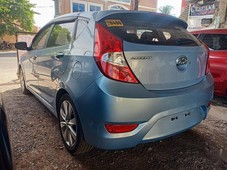 silver hyundai accent 2014 for sale in santiago