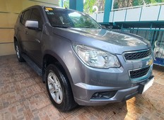 selling grey chevrolet trailblazer in manila