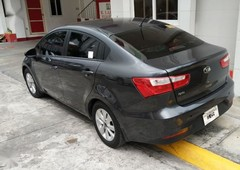 black kia rio 1.4 4-dr m 2016 for sale in manila