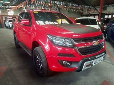 red chevrolet trailblazer 2017 automatic diesel for sale