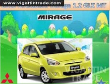 2013 mitsubishi mirage glx mt 95k dp ipadmini - vigattin trade