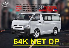 2020 toyota hiace commuter mt - 0917.713.1924 now