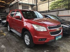 2013 chevrolet trailblazer - manual transmission