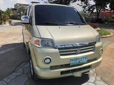 beige suzuki apv 2010 automatic gasoline for sale0