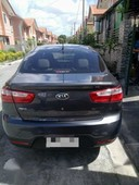kia rio manual gas 1400cc 2014 gray for sale