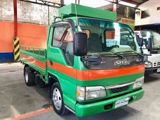 2006 isuzu elf giga dropside 10ft with siding extension for sale