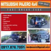 for sale pajero 4x4-09178767991