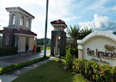 a lot for sale at san ignacio filinvest luxurious residency