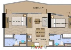2bedrooms condominium davao for sale