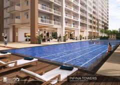 2br sale at infina towers in cubao qc near araneta center
