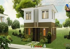 amber house and lot package in villa mercedita davao city