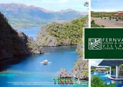 house and lot for sale in coron palawan
