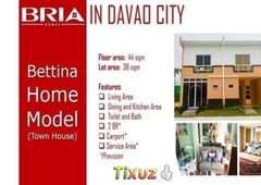 murang house and lot bigay sa inyo ni bria homes bgry talomo calinan davao city