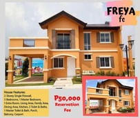 house and lot for sale camella freya unit