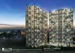 1br condo for sale infina towers in quezon city