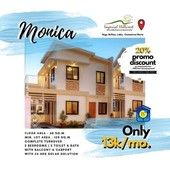 monica model house at imperial hillcrest subdivision