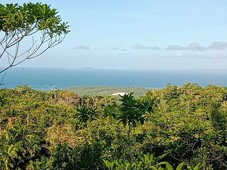 overlooking sea view lot
