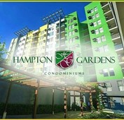 1 bedroom for sale, fully furnished in hampton gardens pasig