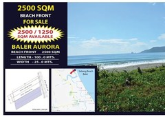 baler sabang beach front for sale