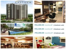 one castilla place modern condo in quezon city