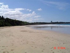 beachfront property with wide frontage. good for resort