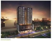 robinsons land corp. 22 sqm - studio unit , aurora escalades