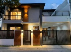 modern and brandnew house and lot for sale in a secured subd. in angeles city, near marquee mall and clark