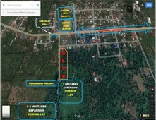 commercial land with excellent frontage for sale