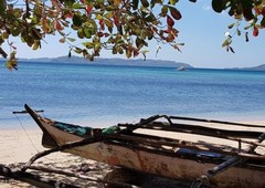 undeveloped white sand beach for sale